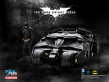 Batman The Dark Knight Rises - 75th Anniversary Batman and Tumbler 1/9 Scale Model Kit