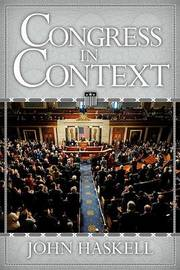 Congress in Context by John Haskell image
