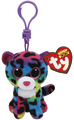 Ty Beanie Boos: Dotty Leopard - Clip On Plush