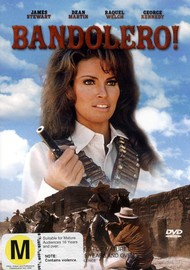 Bandolero! on DVD image