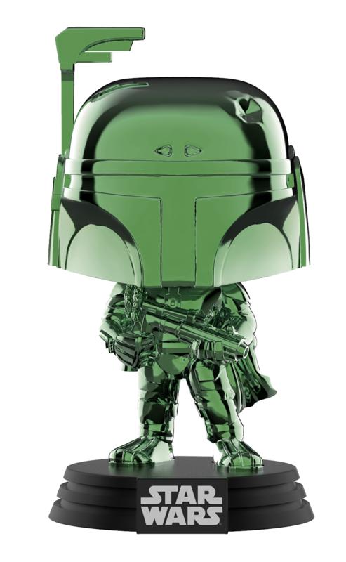 Star Wars: Boba Feet (Green Chrome) - Pop! Vinyl Figure