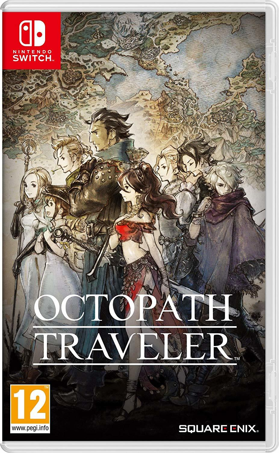 Octopath Traveler for Switch image