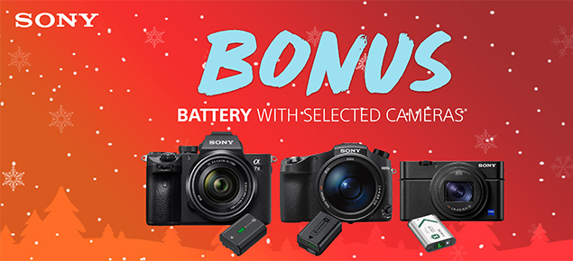 Epic Sony Camera Sale!