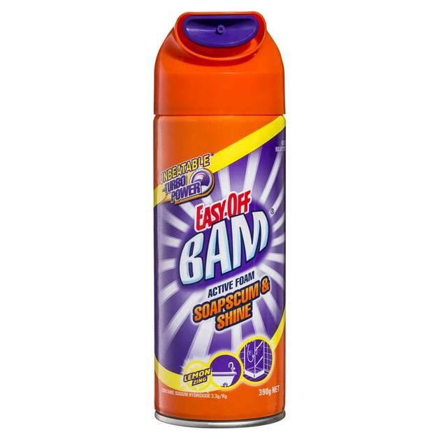 Easy Off: Bam Active Foam Soap Scum & Shower Cleaner - Lemon Zing (390g)