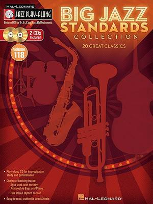 Big Jazz Standards Collection: Jazz Play-Along Volume 118 image