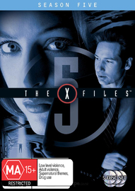 The X-Files - Season 5 on DVD image