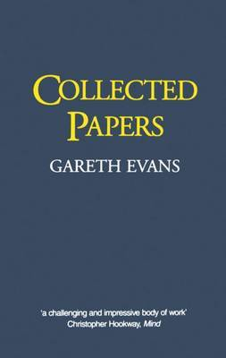 Collected Papers by Gareth Evans image
