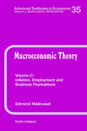 Inflation, Employment and Business Fluctuations: Volume 35C by Gerard Meurant