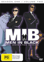 Men In Black - The Animated Series: Season 1 - Vol. 2 on DVD