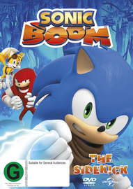 Sonic Boom - Volume 1 on DVD