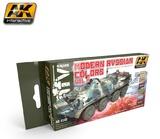 AK Modern Russian Colours Vol 2 - Acrylic Paint Set