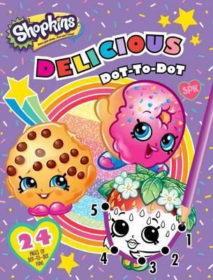 Shopkins Delicious Dot-to-Dot image