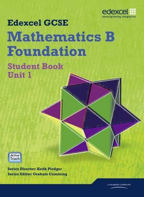 GCSE Maths Edexcel 2010: Spec B Foundation Unit 1 Student Book by Gareth Cole image