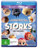Storks (Blu-ray + Ultraviolet) on Blu-ray