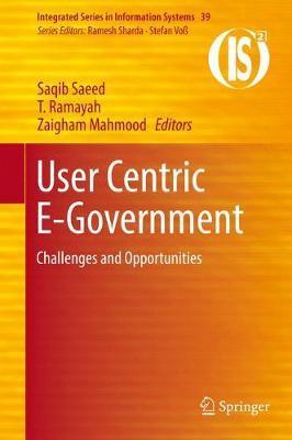 User Centric E-Government