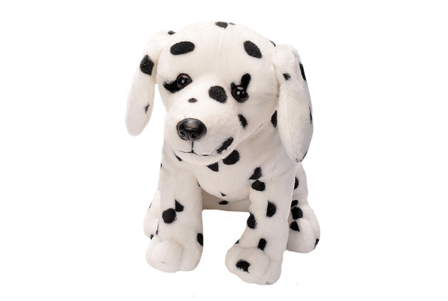 Cuddlekins Sitting Dalmatian Dog 12 Inch Plush