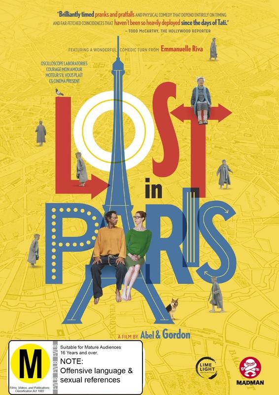 Lost In Paris on DVD