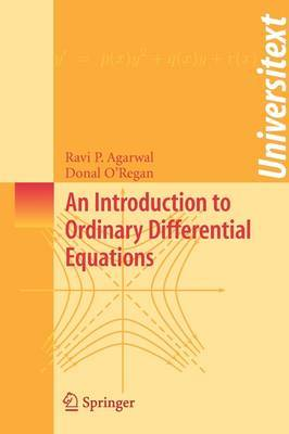 An Introduction to Ordinary Differential Equations by Ravi P Agarwal image