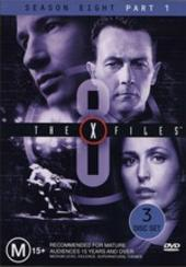 X-Files, The Season 8 Part 1 (3 Disc) on DVD