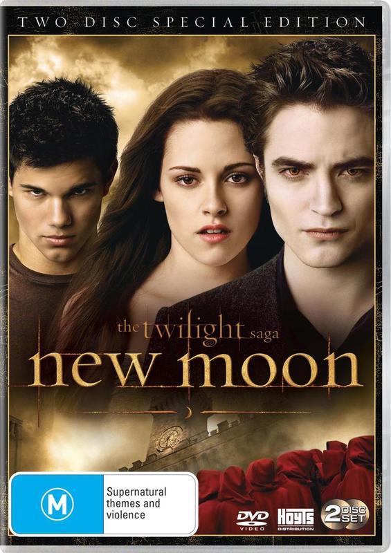 The Twilight Saga - New Moon (2 Disc Special Edition) on DVD