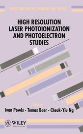 High Resolution Laser Photoionization and Photoelectron Studies image