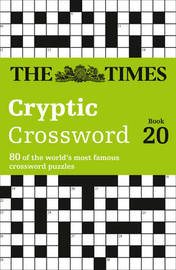 The Times Cryptic Crossword Book 20 by The Times Mind Games