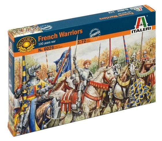 Italeri: 1:72 French Warriors - Model Kit