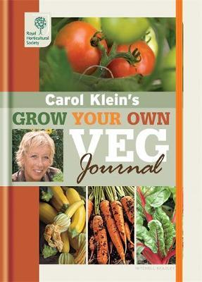 RHS Grow Your Own: Veg Journal by Carol Klein image