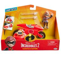 Incredibles 2: Vehicle - Elastigirl & Elasticycle