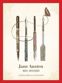 Jane Austen Novel Notecards (16 Cards/Envelopes) by Chronicle Books