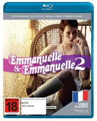 Emmanuelle + Emmanuelle 2 on Blu-ray