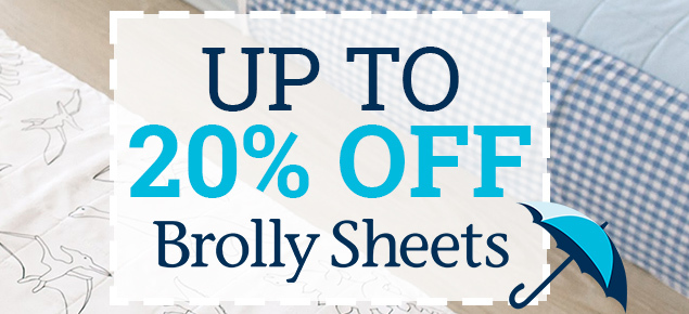 Brolly Sheets Sale-Up to 20% off