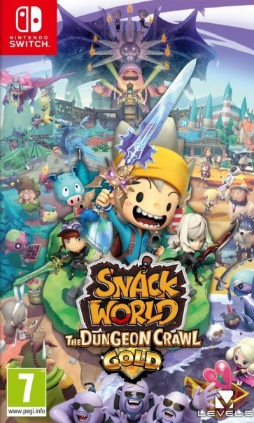 Snack World: The Dungeon Crawl Gold Edition for Switch