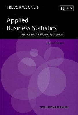 Applied Business Statistics by Trevor Wegner image