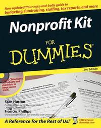 Nonprofit Kit for Dummies by Frances Phillips image
