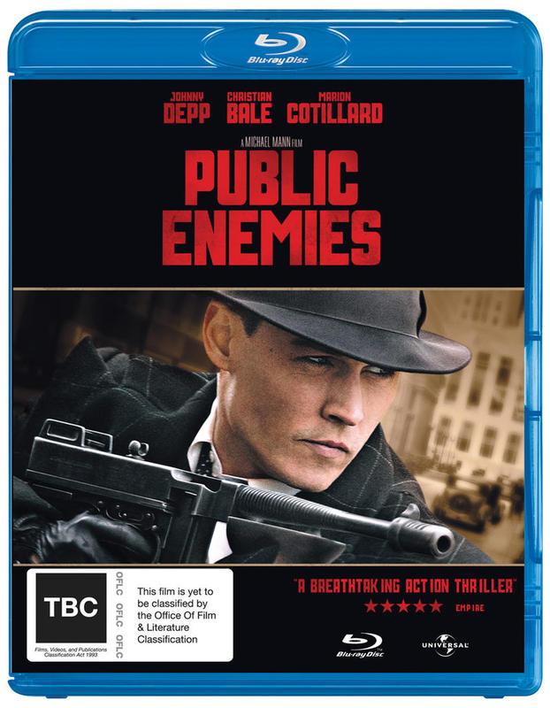 Public Enemies on Blu-ray