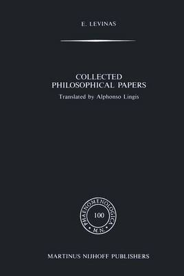 Collected Philosophical Papers by Emmanuel Levinas