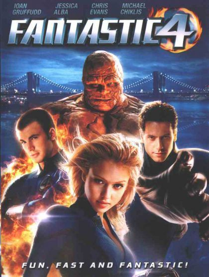 Fantastic 4 on DVD
