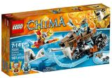 LEGO Legends of Chima - Strainor's Saber Cycle (70220)