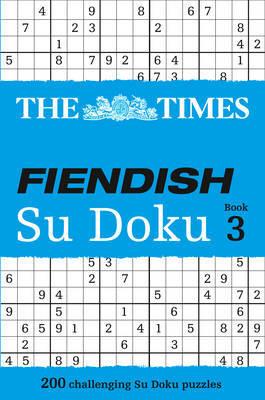 The Times Fiendish Su Doku Book 3 image