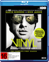 Vinyl - Season One on Blu-ray