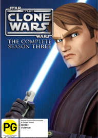 Star Wars: The Clone Wars - The Complete Season Three on DVD