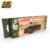 AK MERDC Camouflage Colours Paint Set