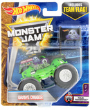 Hot Wheels Monster Jam 25: Grave Digger (Team Flag)