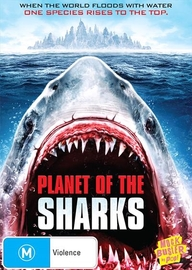 Planet of the Sharks on DVD image
