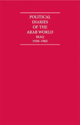 Political Diaries of the Arab World 8 Volume Hardback Set