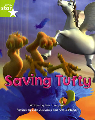 Fantastic Forest Green Level Fiction: Saving Tufty by Lisa Thompson image
