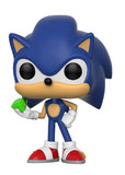 Sonic the Hedgehog - Sonic (with Emerald) Pop! Vinyl Figure