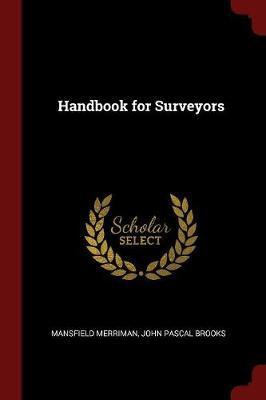 Handbook for Surveyors by Mansfield Merriman image