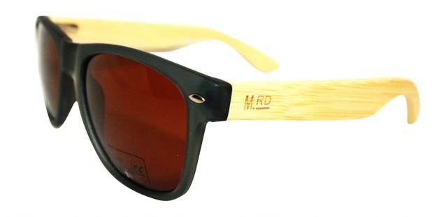Moana Rd: 50/50s Sunglasses - Grey/Wood